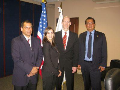 EOR y especialistas de energía del Departamento de Estado de Estados Unidos